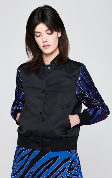 ESCADA Material Mix Jacquard Jacket