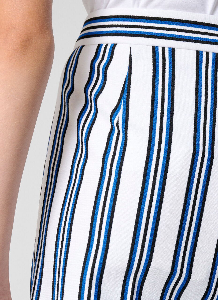Milano Jersey Stripe Pants - ESCADA