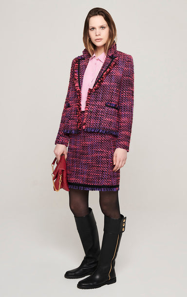 ESCADA Wool Blend Tweed Jacket