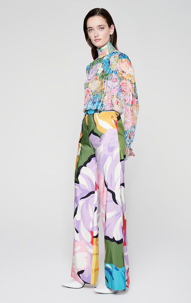 ESCADA Residency Collection - Silk Floral Pants