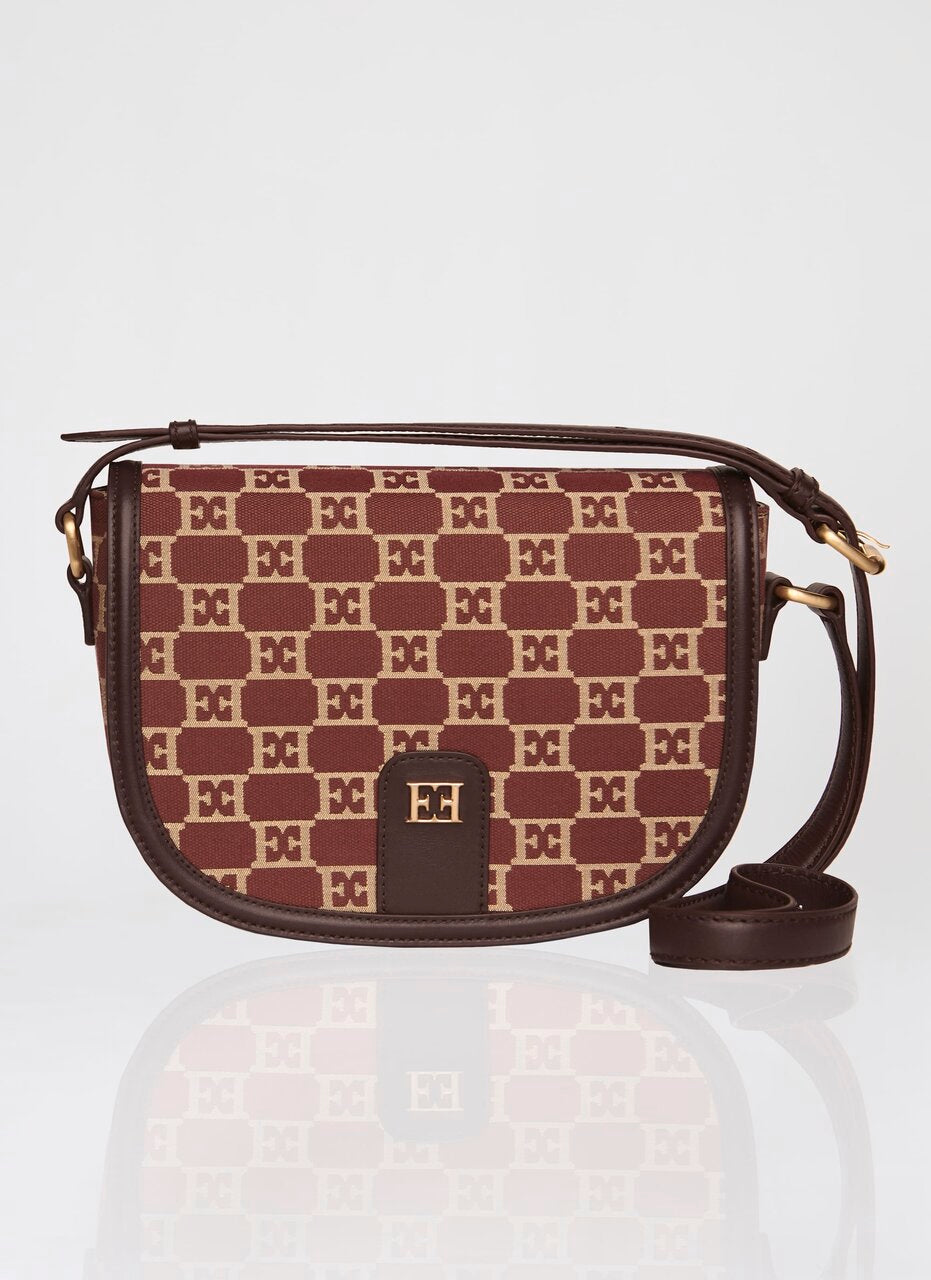 Logo jacquard crossbody bag - ESCADA