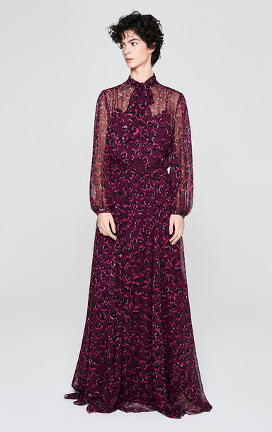 Silk Chiffon Printed Gown - ESCADA