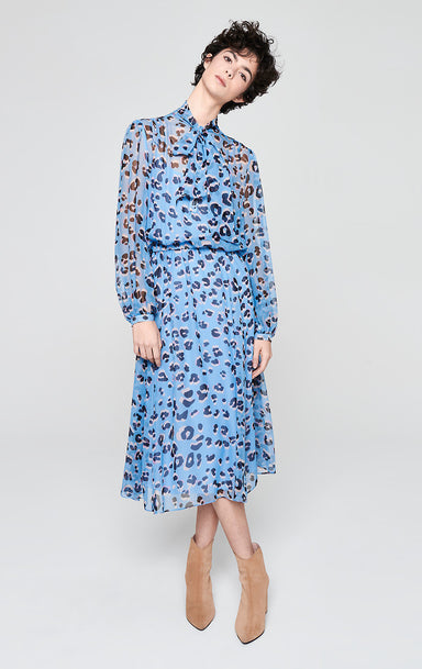 ESCADA Silk Chiffon Printed Dress