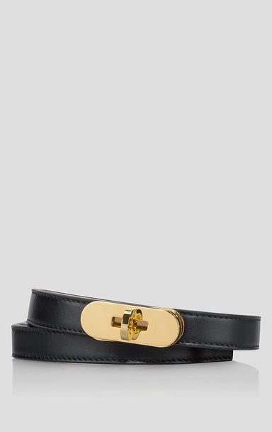 ESCADA Leather Lock Belt