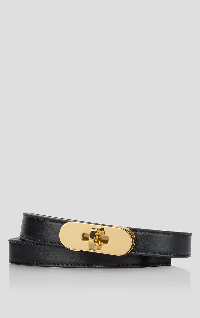 Leather Lock Belt - ESCADA