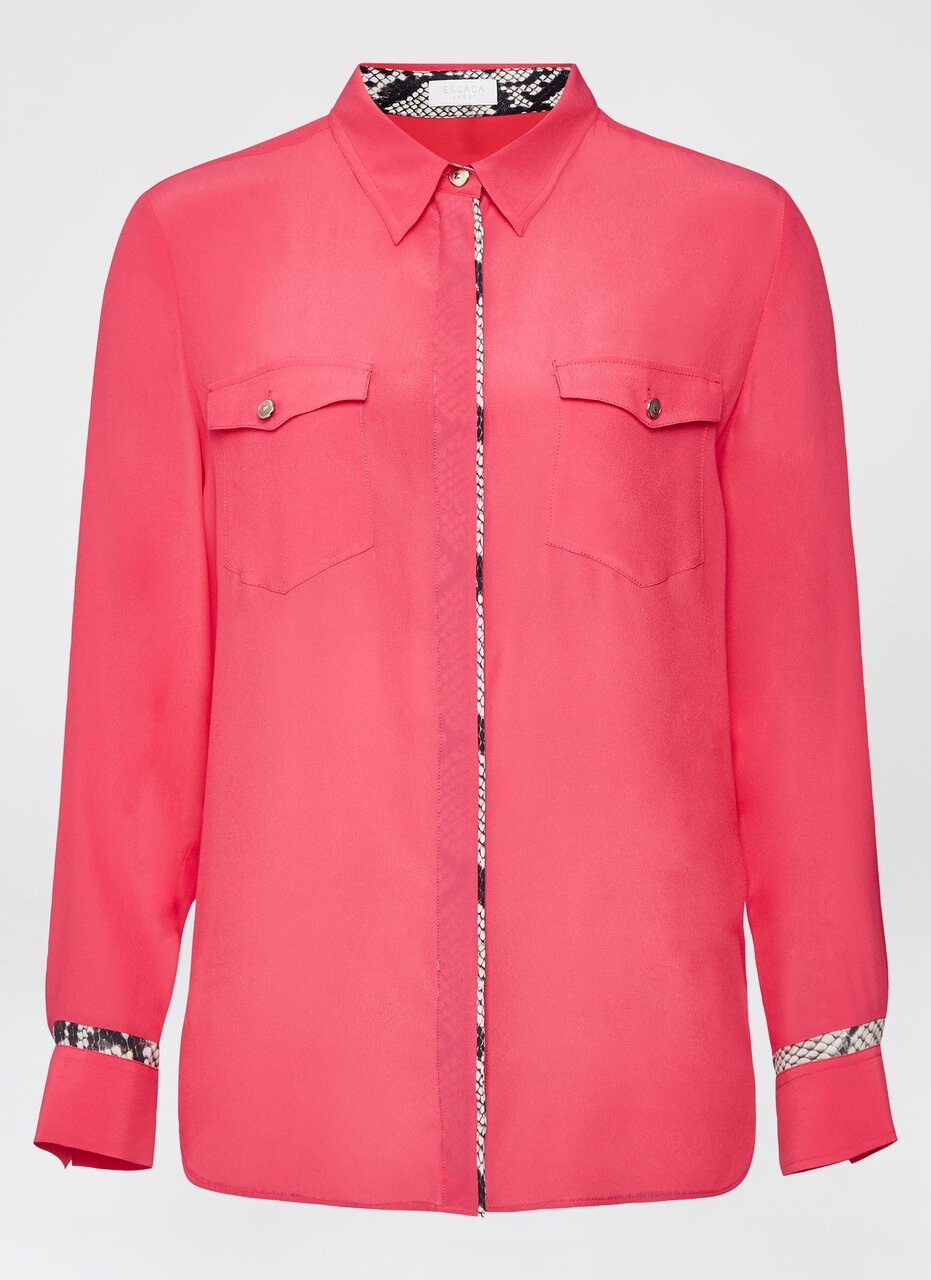 Fluid Viscose Silk Blouse - ESCADA