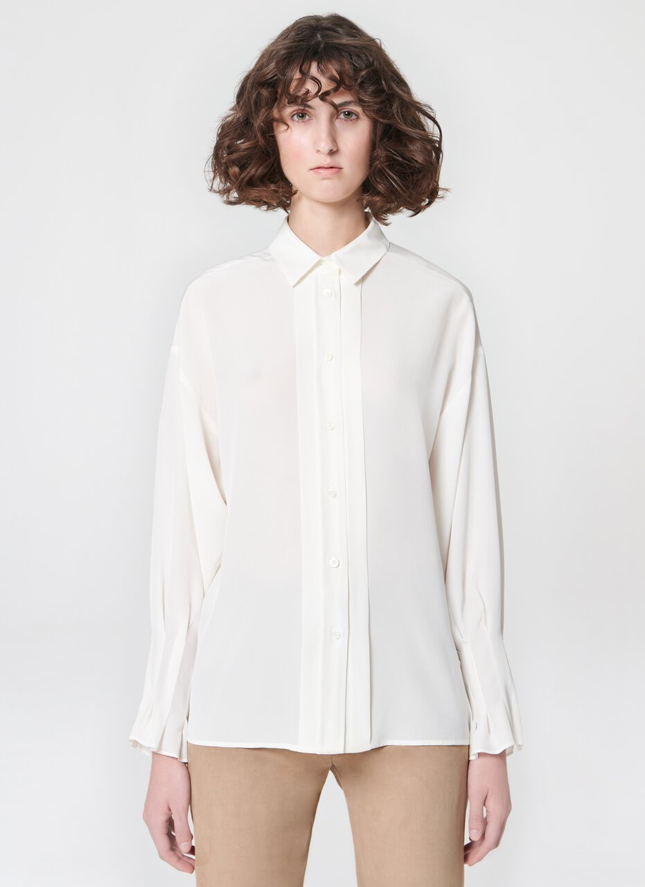 Feminine silk blouse - ESCADA