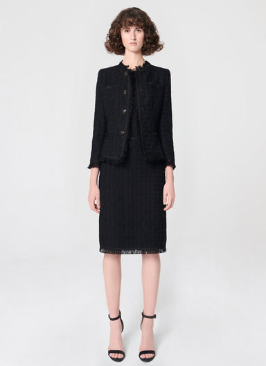 Statement tweed skirt - ESCADA