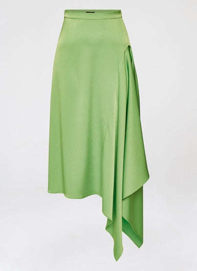 Feminine 24/7 midi satin skirt - ESCADA
