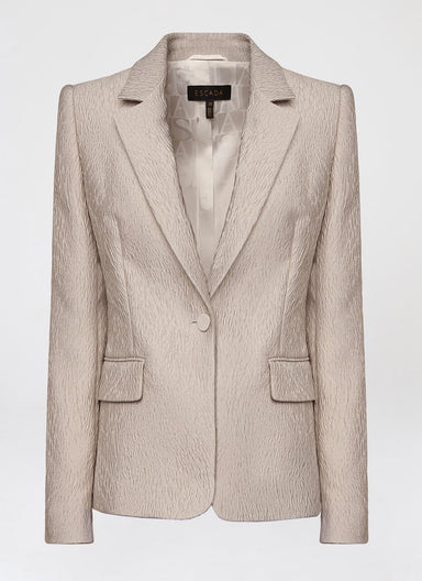 ESCADA Luxurious cloqué blazer
