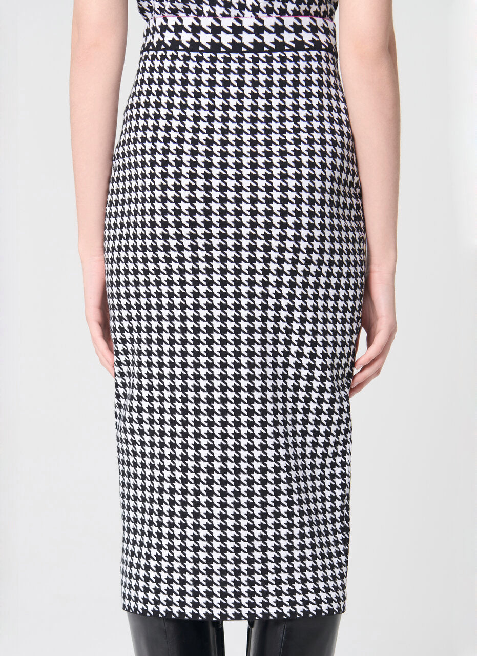Knit jacquard pencil skirt - ESCADA