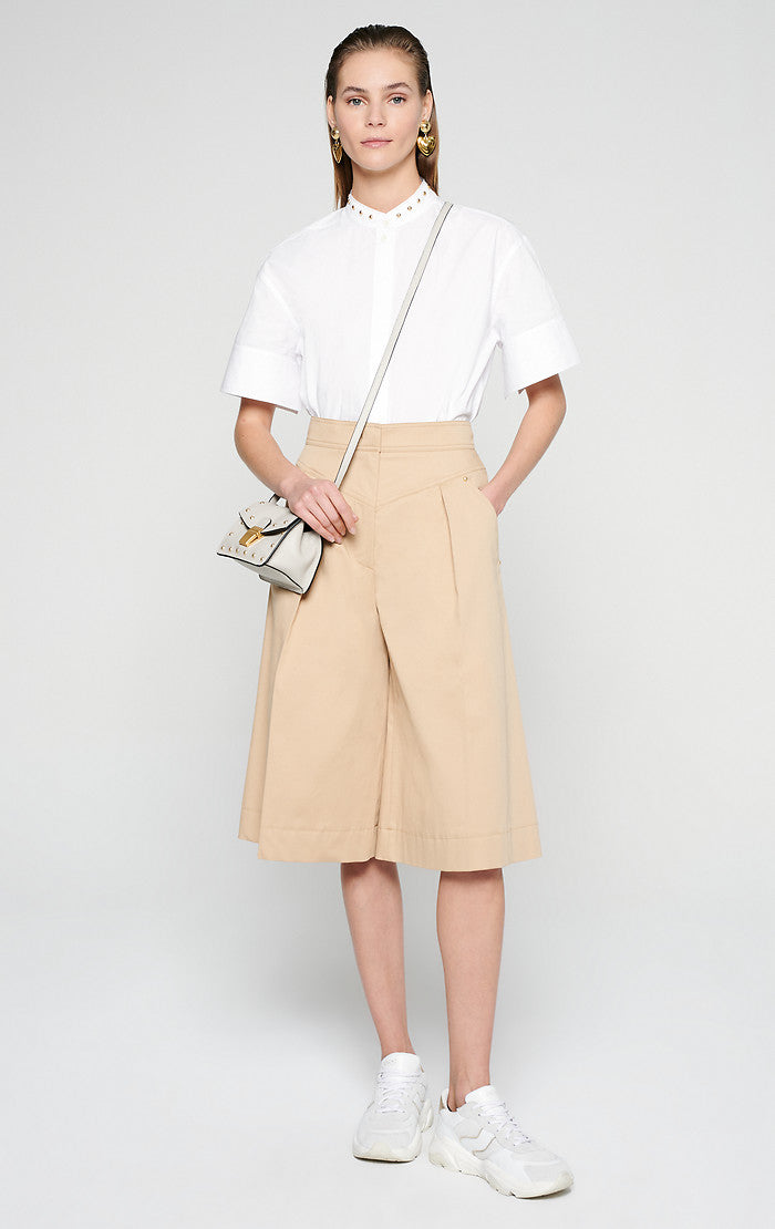 ESCADA Cotton Culotte Pants
