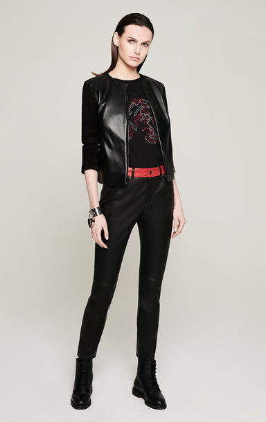 Stretch-Leather Pants - ESCADA