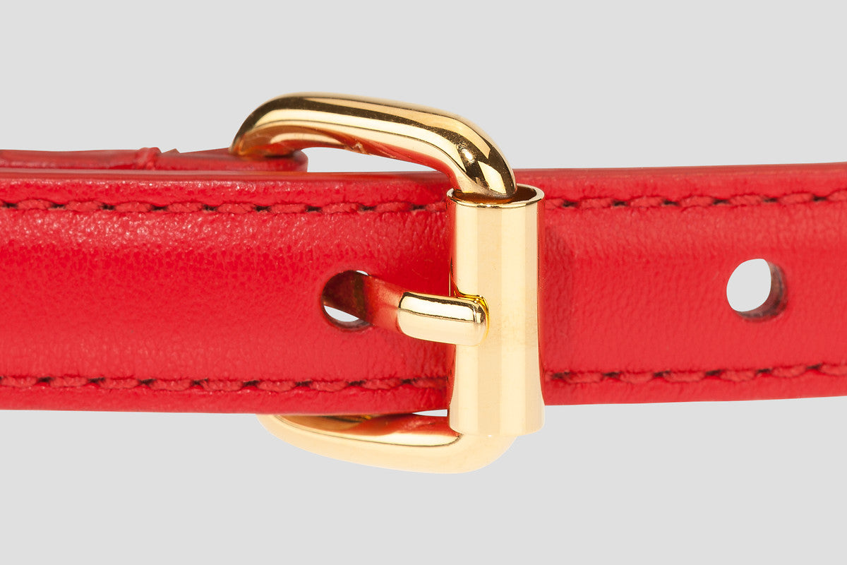ESCADA Leather Chain Belt