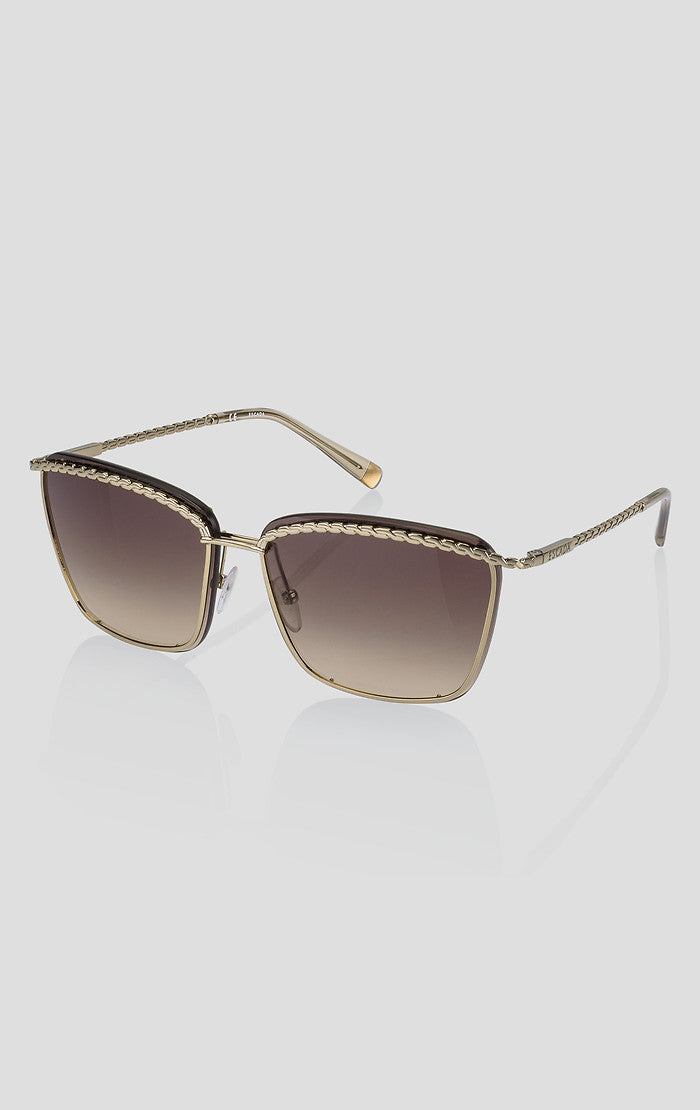 Square Metal Sunglasses - ESCADA