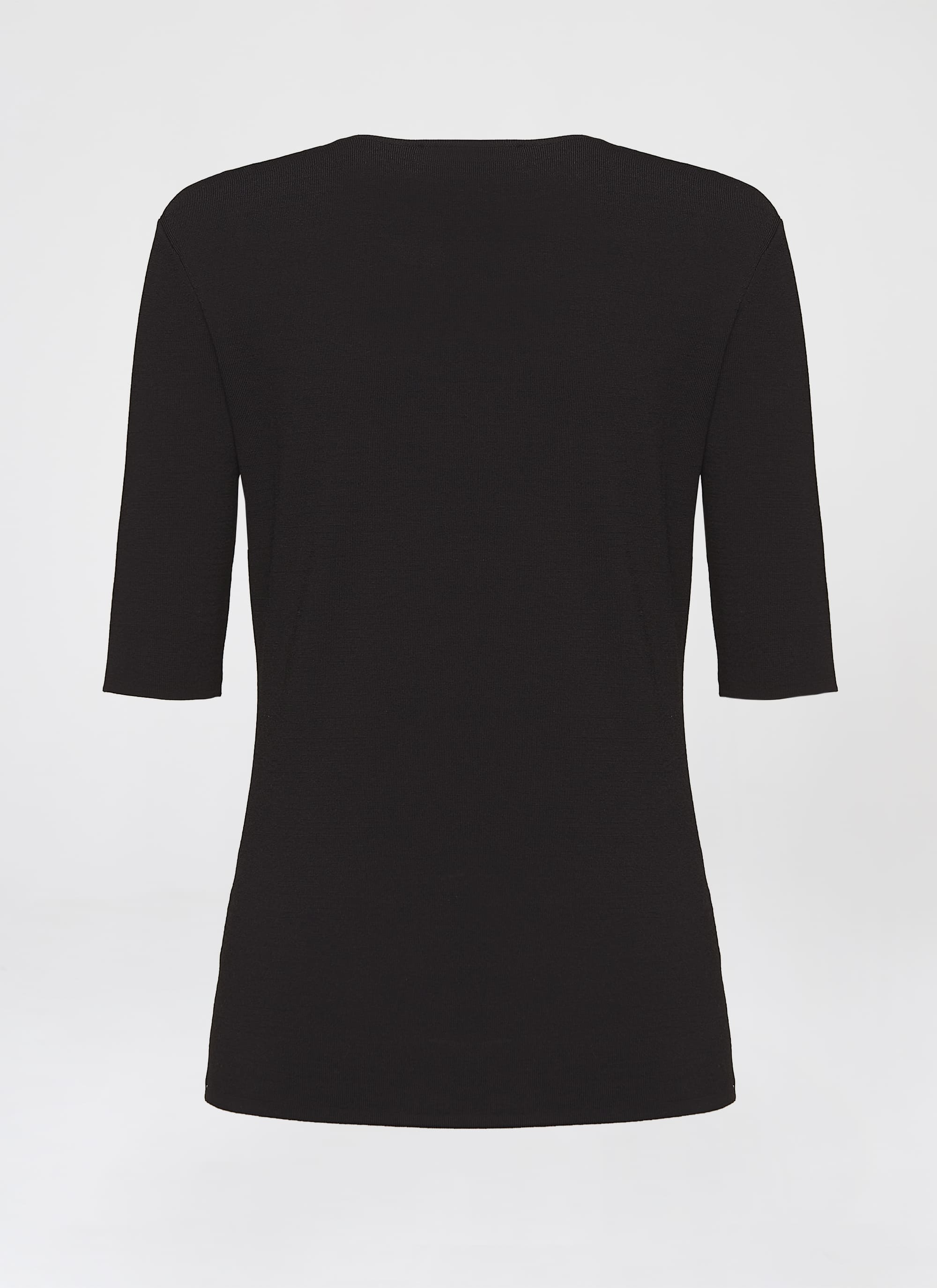 Classic viscose stretch pullover - ESCADA