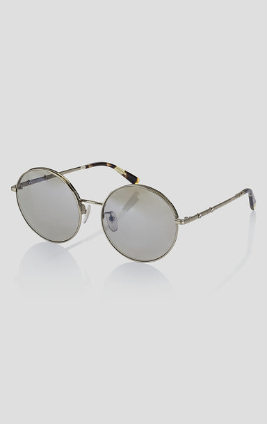 Round Mirrored Sunglasses - ESCADA