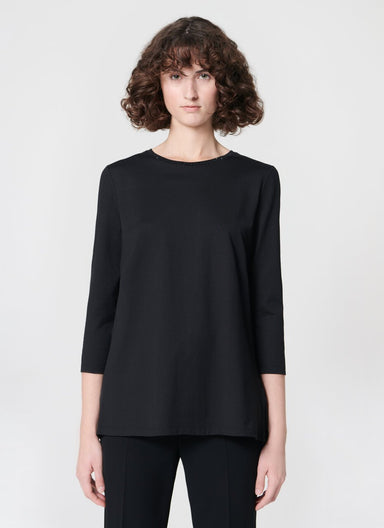 Jersey tunic with feminine pleating in the back - ESCADA