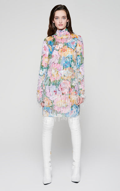 Residency Collection - Sequin and Crystal Embellished Dress - ESCADA