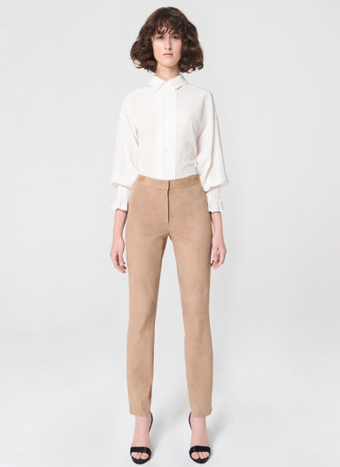 Stretch-Suede Pants - ESCADA