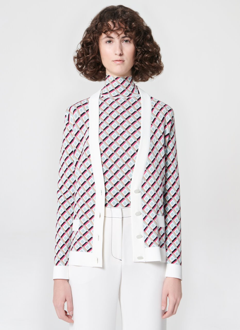 ESCADA Knit jacquard cardigan