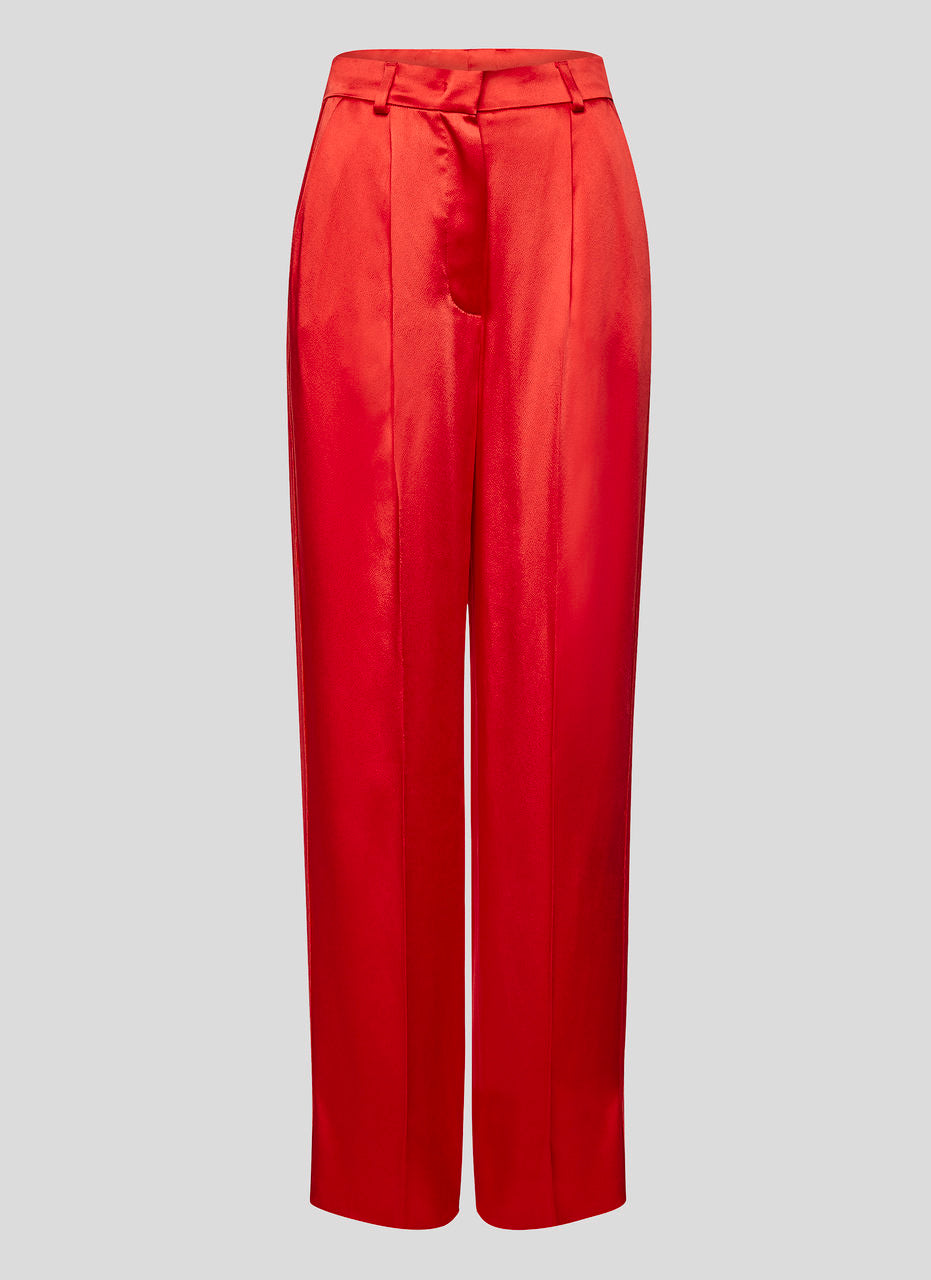 Satin Straight Leg Pants - ESCADA