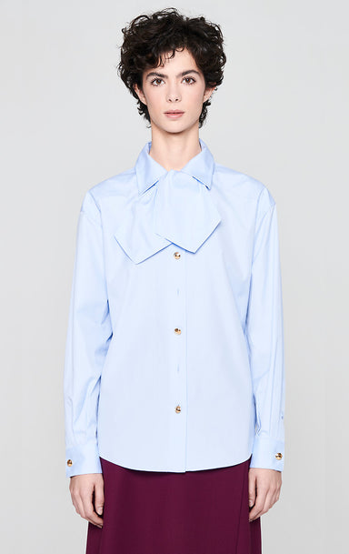 ESCADA Cotton Bow-Neck Shirt