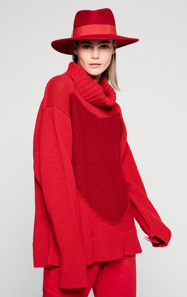 Wool Roll Neck Sweater - ESCADA