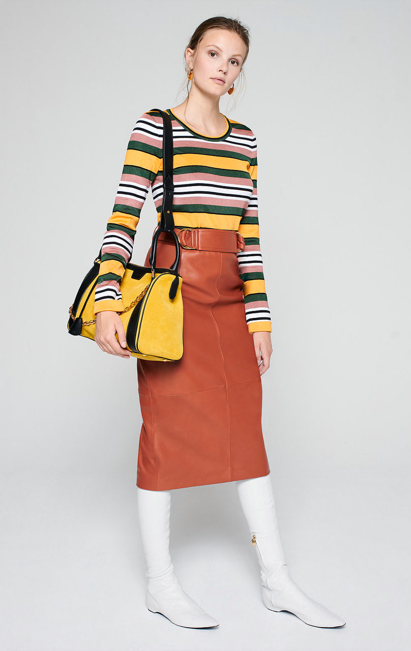 Stripe Jacquard Sweater - ESCADA