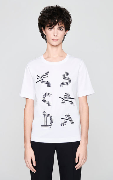 Graphic Logo T-shirt - ESCADA