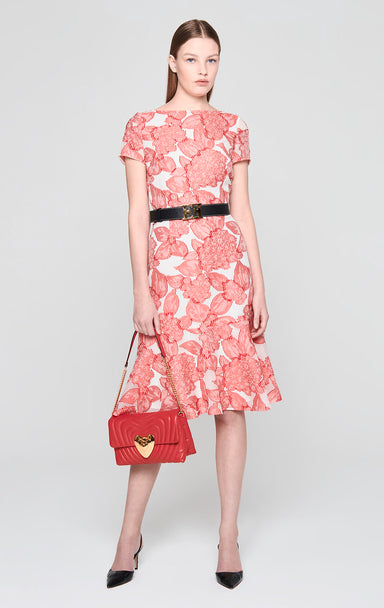 ESCADA Silk Blend Floral Dress