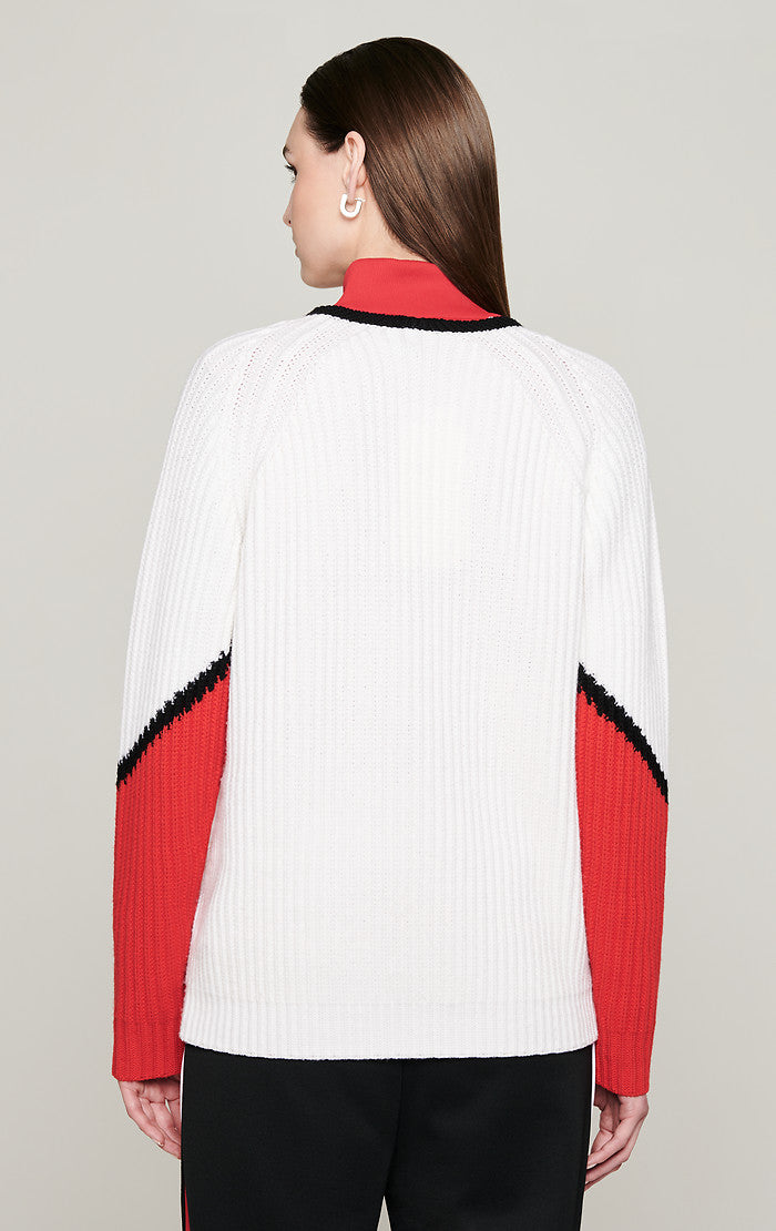Wool Oversized V-Neck Sweater - ESCADA