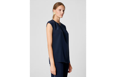 ESCADA Silk Cap-Sleeve Top