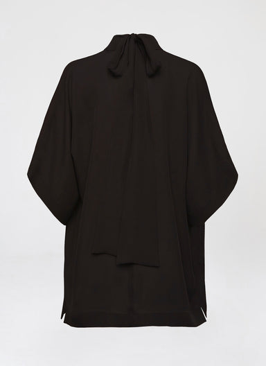 Feminine cocktail silk blouse - ESCADA
