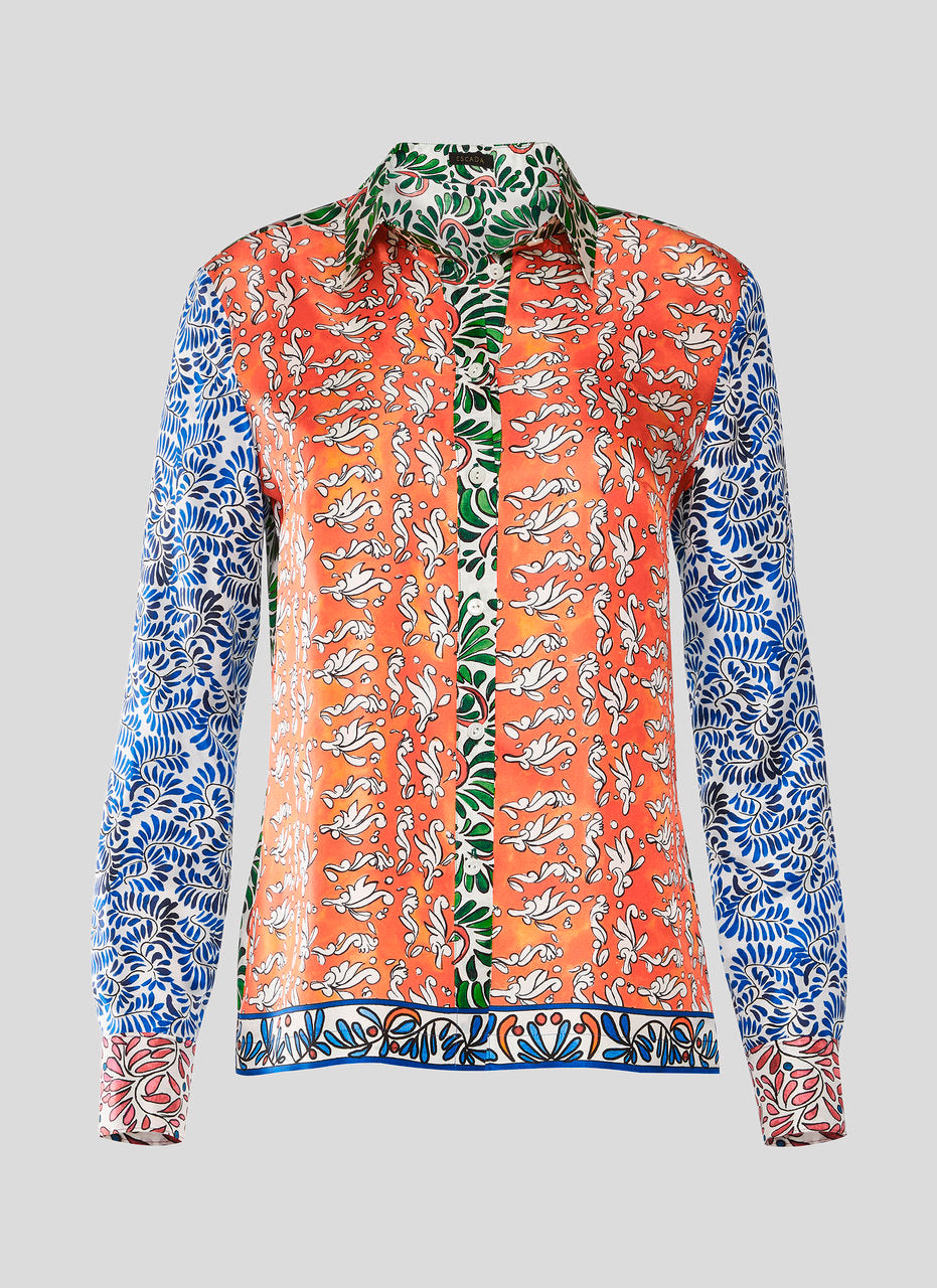 ESCADA Silk Printed Blouse