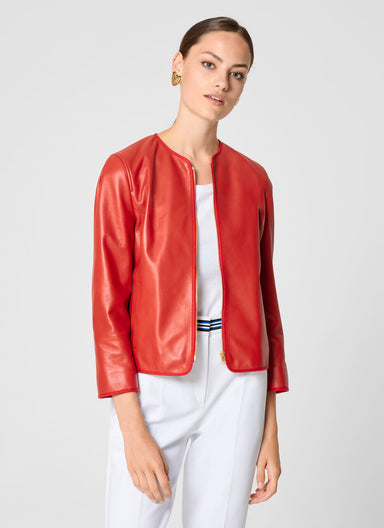 Leather Jacket - ESCADA