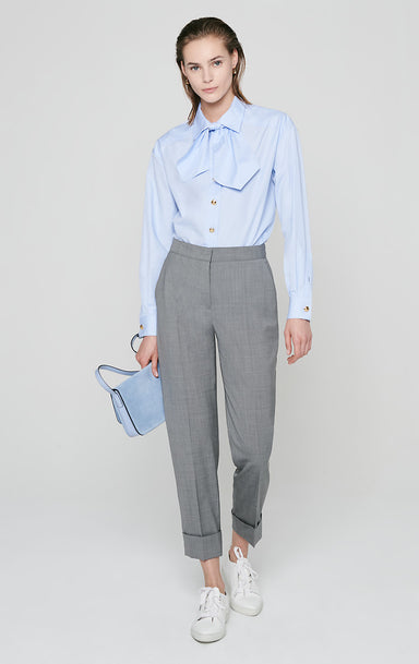 Virgin Wool Ankle Pants - ESCADA