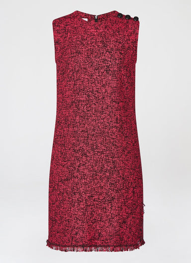 Wool Tweed Shift Dress - ESCADA