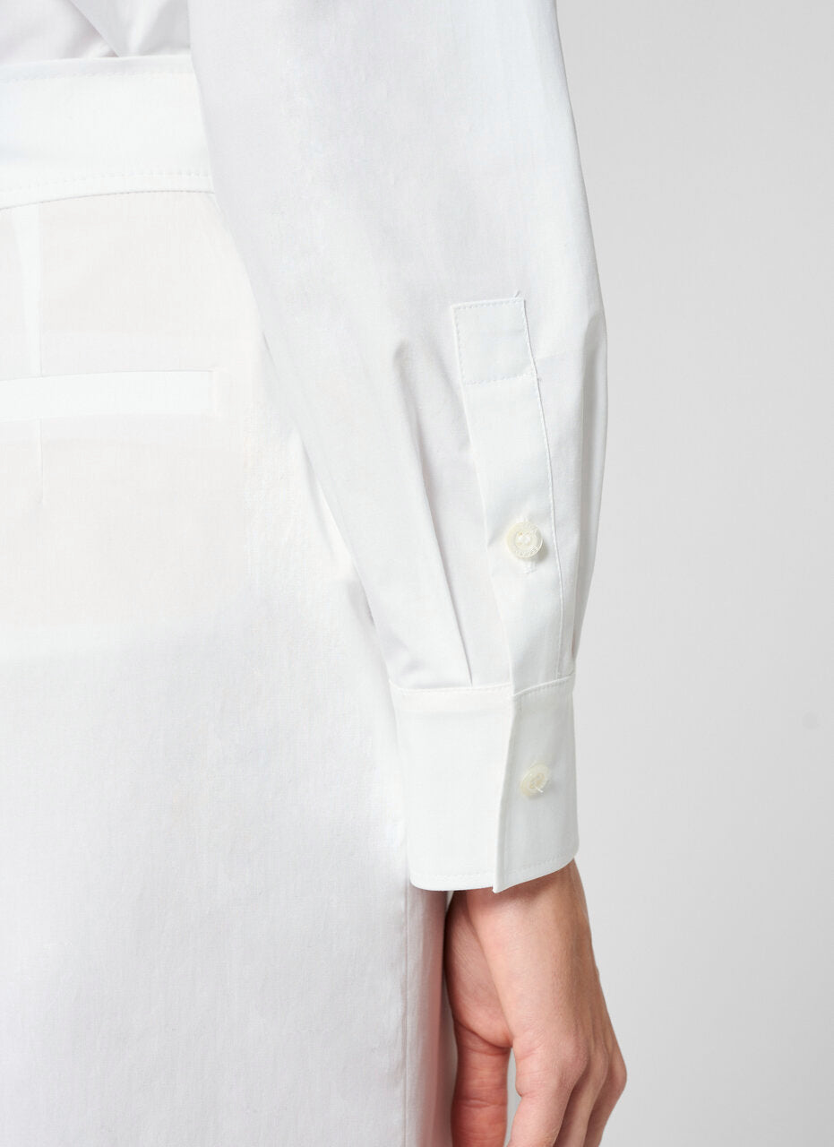 ESCADA Cotton Poplin Jewel Button Shirt
