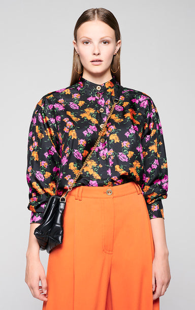 ESCADA Silk Printed Tunic Blouse
