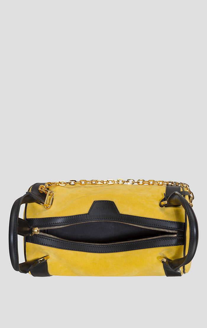 ESCADA Suede and Leather Shoulder Bag