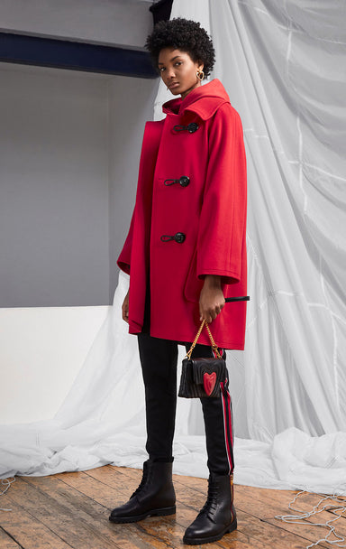 ESCADA Wool 2-in-1 Duffle Coat