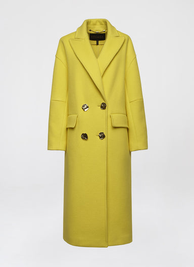 Oversized cashmere mix coat - ESCADA