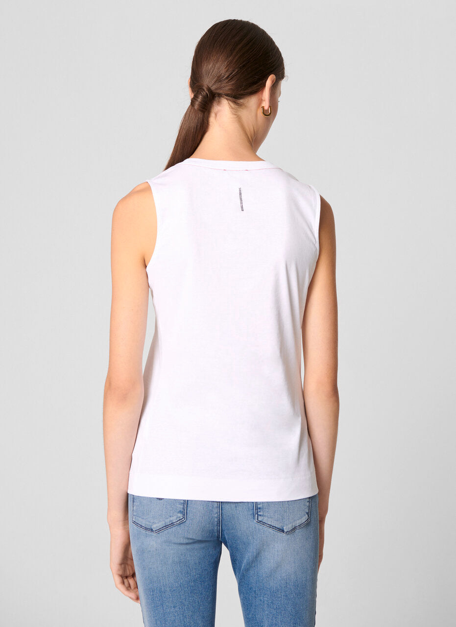 Cotton Tank Top - ESCADA