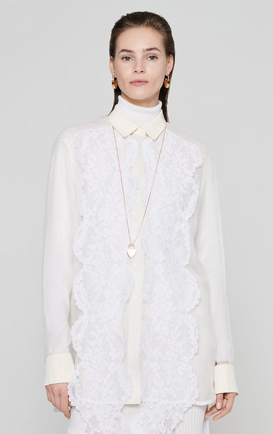 Residency Collection - Silk and Lace Blouse - ESCADA