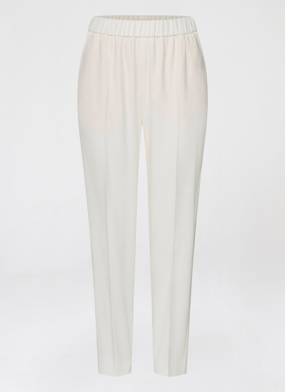 Slip on pant with tuxedo stripe - ESCADA