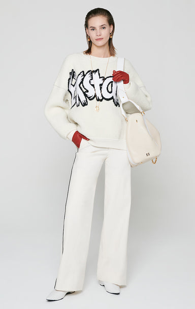 Residency Collection - Graffiti Logo Sweater - ESCADA
