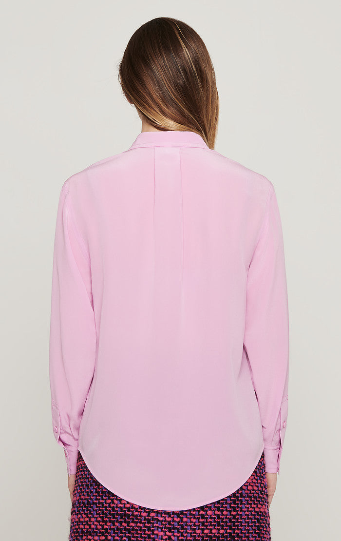 ESCADA Silk Patch Pocket Blouse
