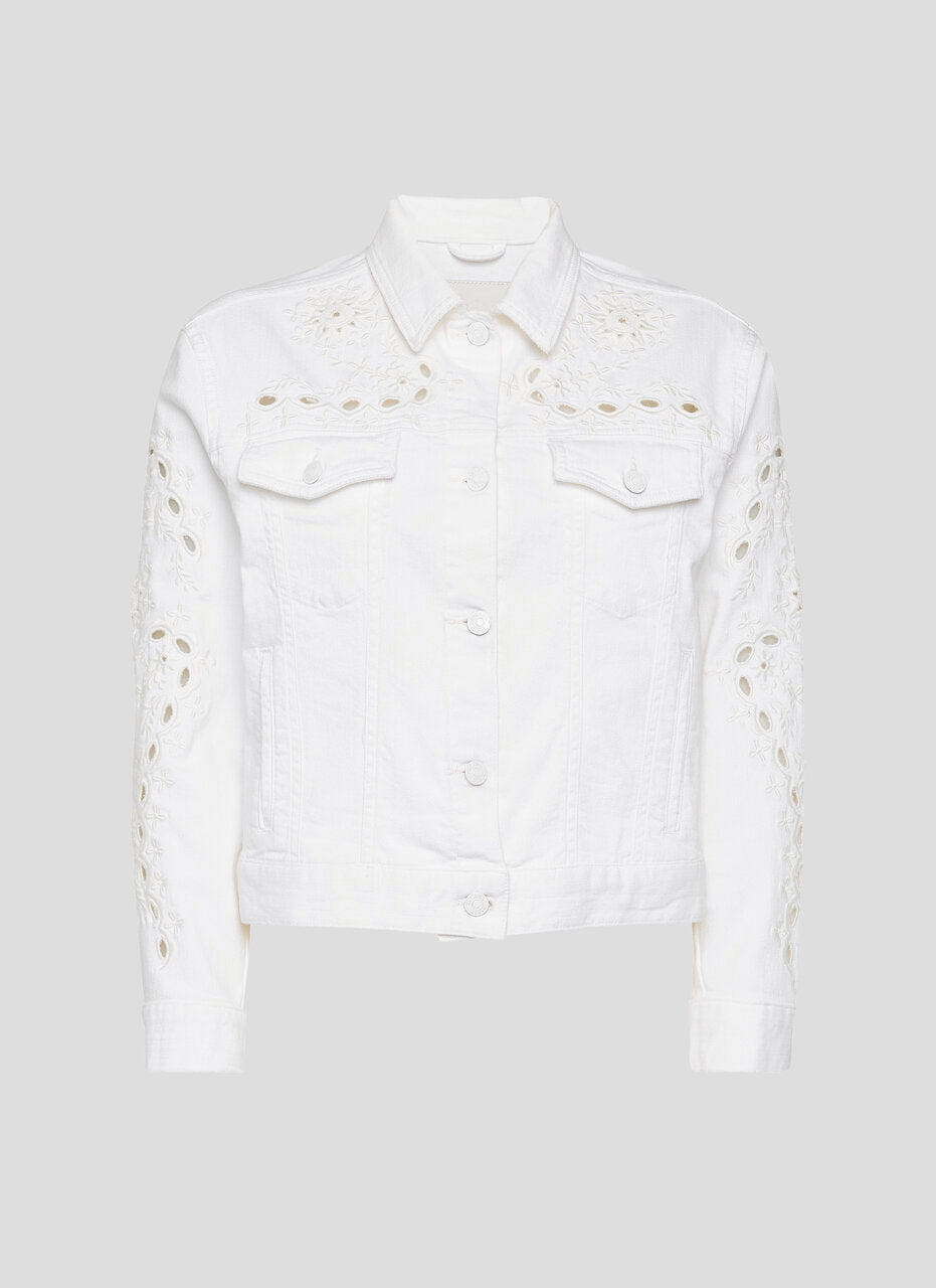 ESCADA Broderie Denim Jacket