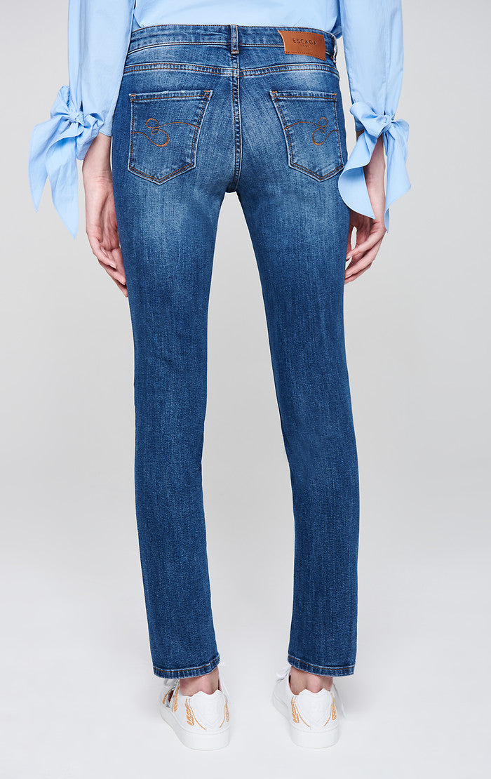 Slim Cropped Jeans - ESCADA